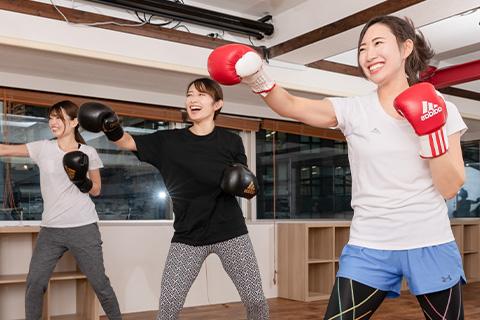 LARA TOKYO キックボクシングクラス